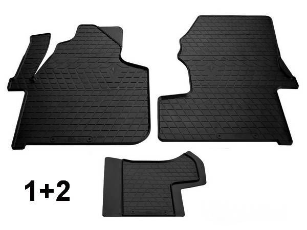 Коврики резиновые передние MERCEDES Sprinter W906 Stingray (1+2)