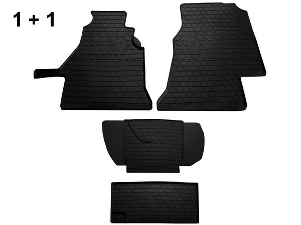 Коврики резиновые передние MERCEDES Sprinter W901-905 (1+1)
