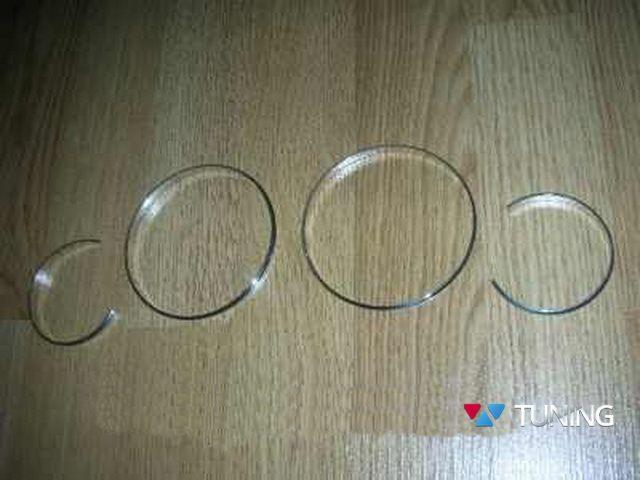 Кольца в щиток приборов PEUGEOT 206 (1998-2010)