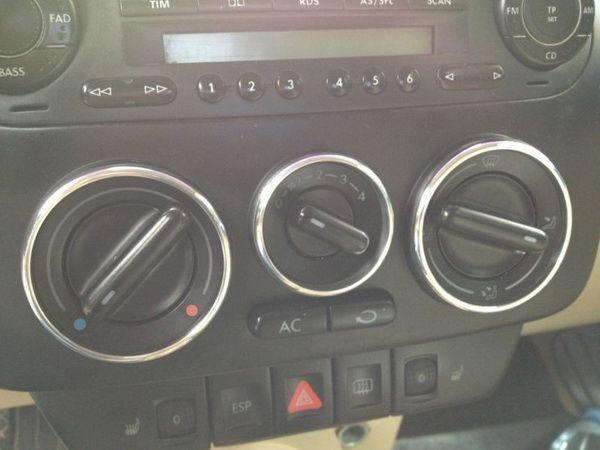 Кольца на ручки печки VW NEW Beetle A4 (97-10)
