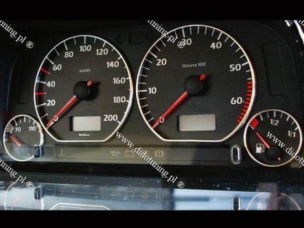 Кольца в щиток приборов VW Caddy II (1996-2004)
