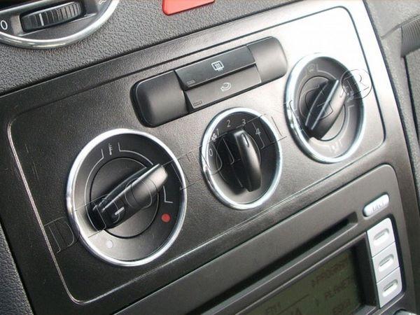 Кольца на ручки печки VW Caddy III (2004-)