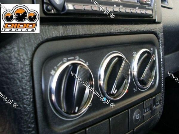 Кольца на ручки печки VW Golf III (91-99)