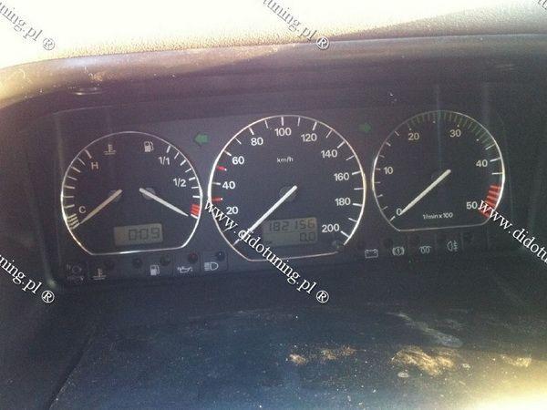 Кольца в щиток приборов VW Passat B3 замкнутые