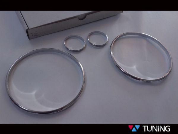 Кольца в щиток приборов VOLKSWAGEN T5 - 4 кольца