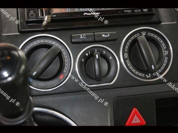 Кольца на ручки печки VW T5/T5+ (2003-2015)