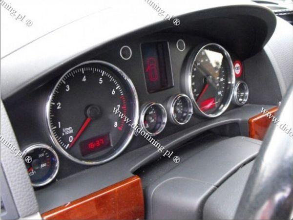 Кольца в щиток приборов VW Touareg I (2002-2010)