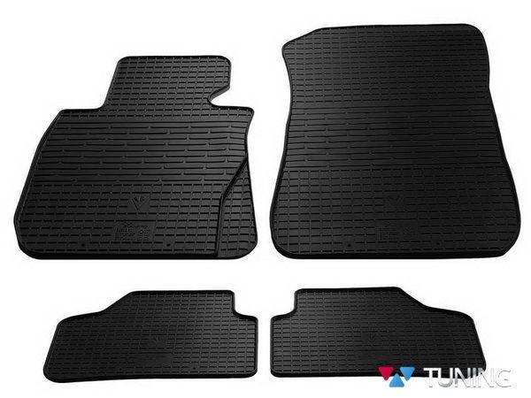 Коврики резиновые чёрные BMW X1 E84 - Stingray