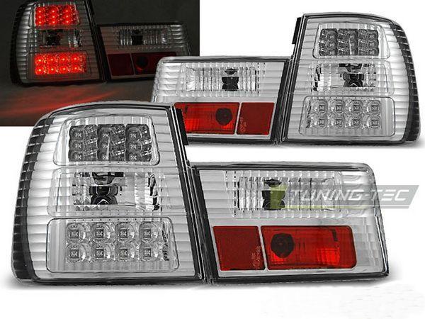 Фонари задние BMW E34 Sedan ХРОМ LED