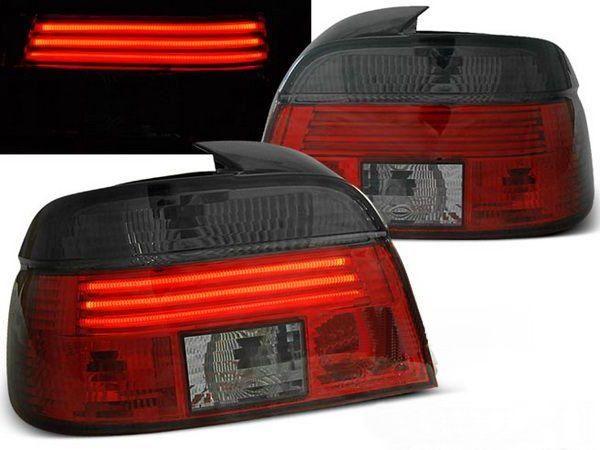 Фонари задние BMW E39 (95-00) Sedan RED-SMOKE LED