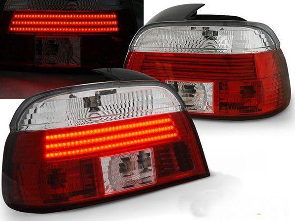 Фонари задние BMW E39 (95-00) Sedan RED-WHITE LED