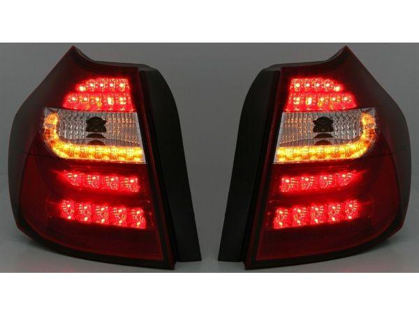 Фонари задние BMW E87 / E81 (04-07) RED WHITE LED BAR