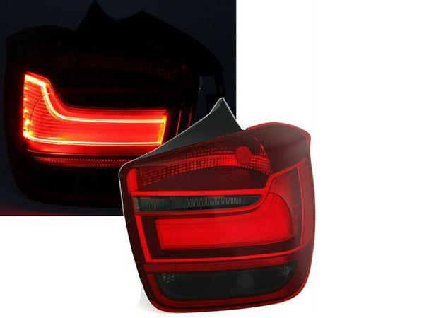 Фонари задние BMW 1 F20 / F21 RED SMOKE LED BAR