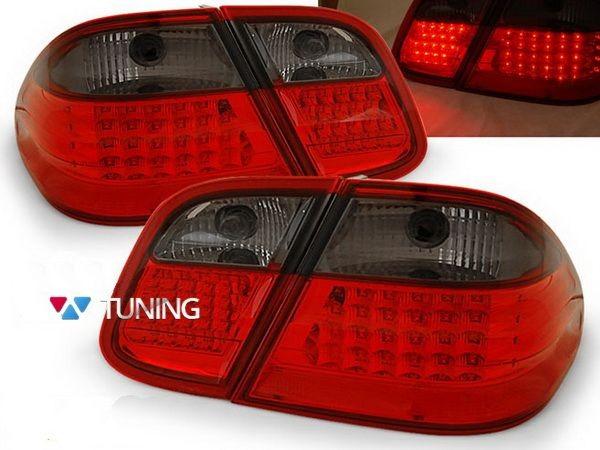 Фонари задние MB CLK W208 RED SMOKE LED