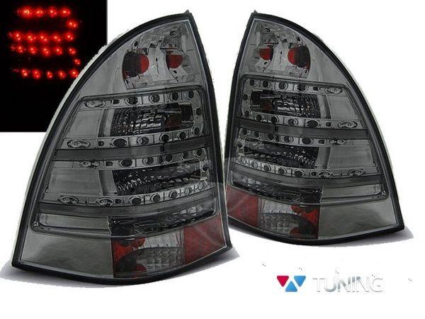 Фонари задние MERCEDES W203 (00-07) Combi SMOKE LED