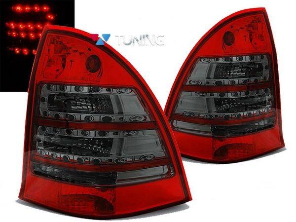 Фонари задние MERCEDES W203 Combi - красные диодные 1