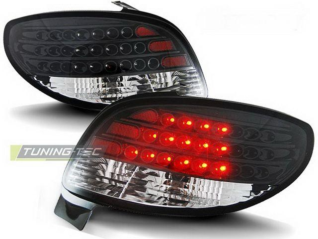 Фонари задние PEUGEOT 206 Hatchback BLACK LED