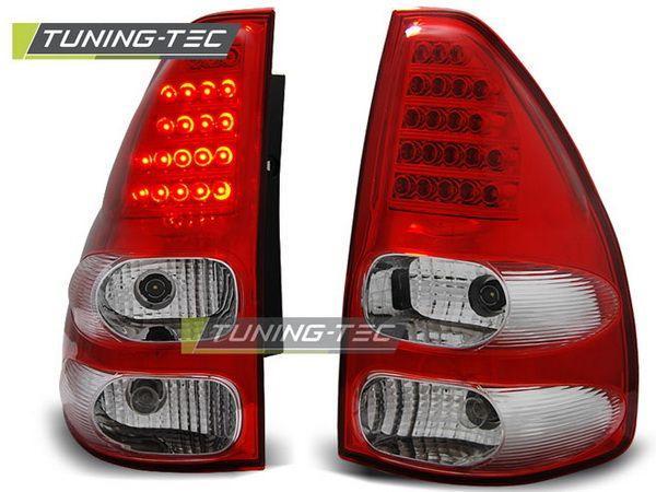 Стопы TOYOTA LC 120 Prado III (02-09) красно-белые LED