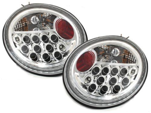 Фонари задние VW NEW Beetle A4 (97-05) CHROME LED