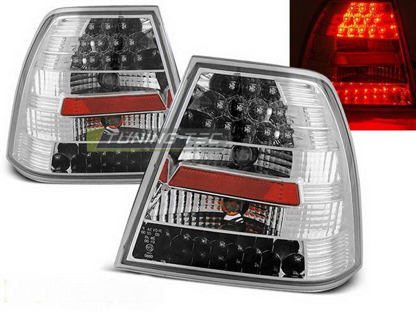 Стопы задние VW Bora A4 Sedan CHROME LED
