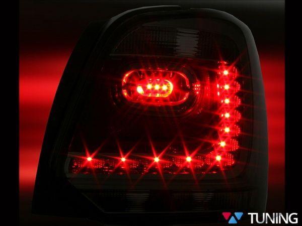 Фонари задние VW Polo Mk5 6R (09-14) HB RED WHITE LED