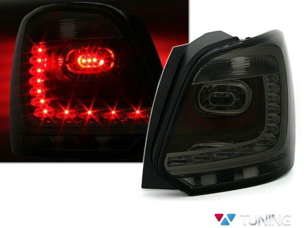 Фонари задние VW Polo Mk5 6R (09-14) Hatchback SMOKE LED