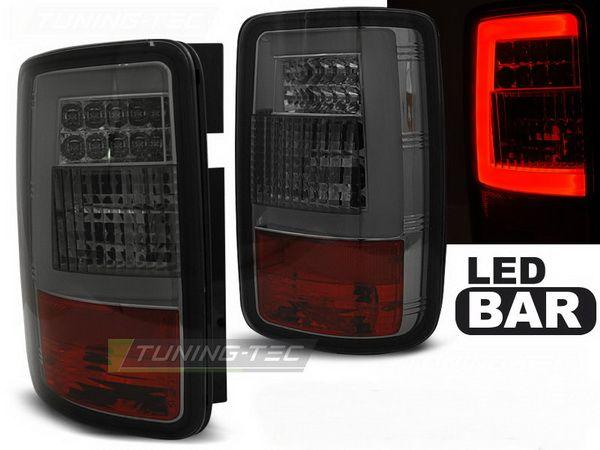 Стопы задние VW Caddy III (04-14) SMOKE LED BAR
