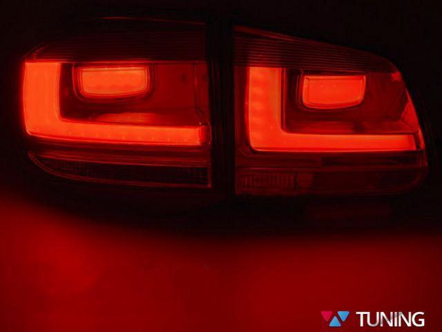 Фонари задние VW Tiguan I (11-15) рестайлинг - дымчатые LED BAR 2