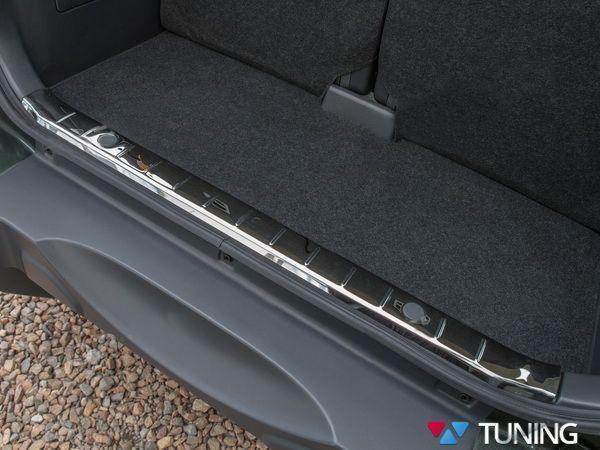 Накладка на порог багажника SUZUKI Jimny нержавейка