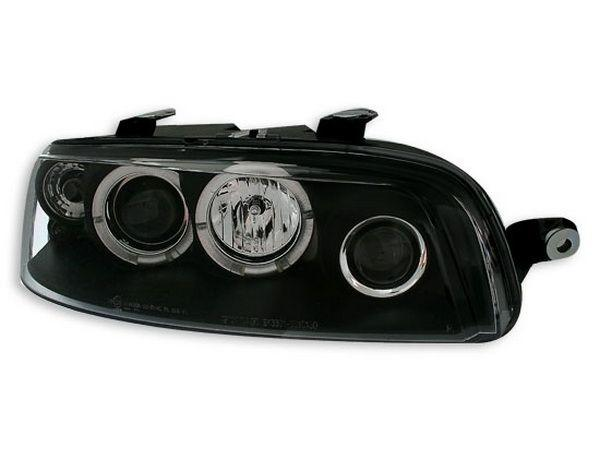 Фары передние FIAT Punto II (99-03) ANGEL EYES BLACK
