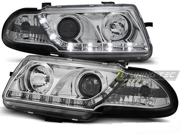 Фары OPEL Astra F FL (94-98) DAYLIGHT CHROME