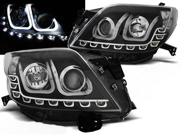Фары TOYOTA LC 150 Prado IV (09-13) TUBE LIGHT BLACK