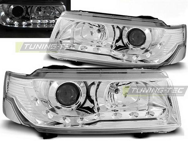 Фары VW Passat B4 (93-97) DAYLIGHT CHROME