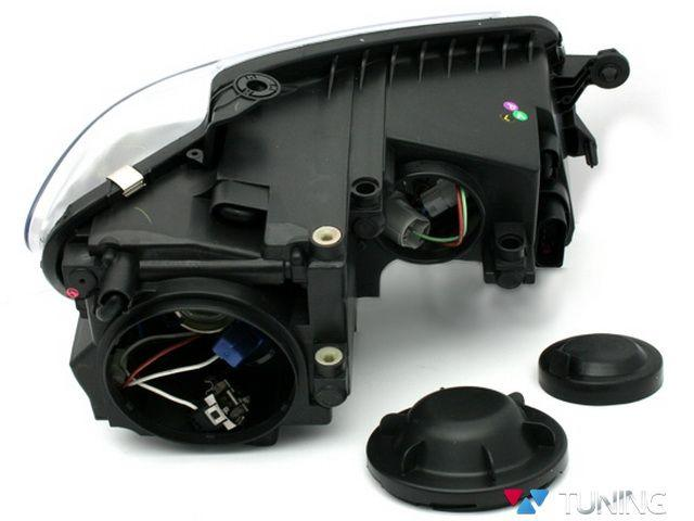 Фары VW Touran GP (2007-2010) DAYLIGHT BLACK