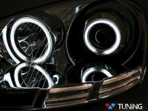 Фары VW Golf V/5 ANGEL EYES CCFL CHROME