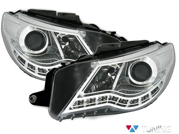 Фары VW Passat CC (08-12) DAYLIGHT CHROME