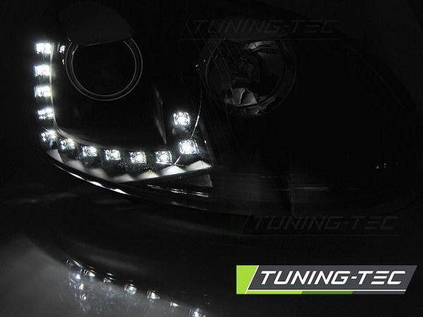 Фары передние VW Golf V 5 LED DRL BLACK