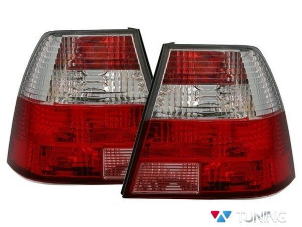 Фонари задние VW Bora A4 (98-05) Sedan RED WHITE