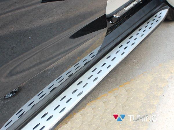 MERCEDES M/GLE W166 ML 63 - боковые пороги на МЛ/GLE 166 - фото #4