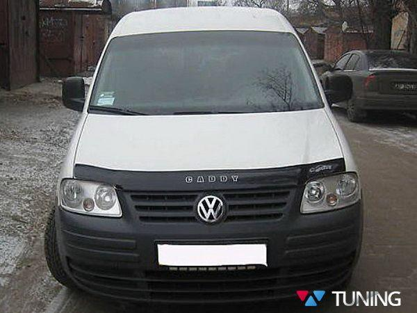 Мухобойка VW Caddy III (2004-2010) VIP с надписью