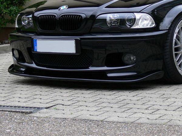Накладка переднего бампера BMW E46 Sd / Touring для М-пакетов