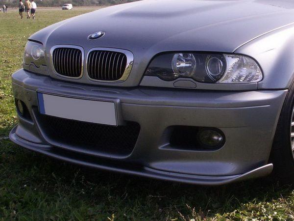 """Накладка переднего бампера BMW E46 """"M3"""""""
