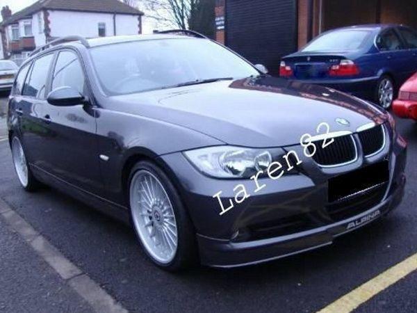 """Накладка переднего бампера BMW E90 / E91 """"ALPINA"""""""