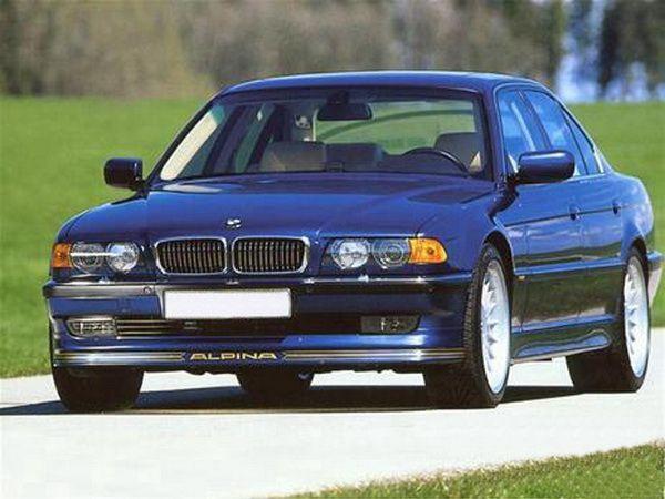 "Накладка переднего бампера BMW E38 (1994-2001) ""ALPINA"""