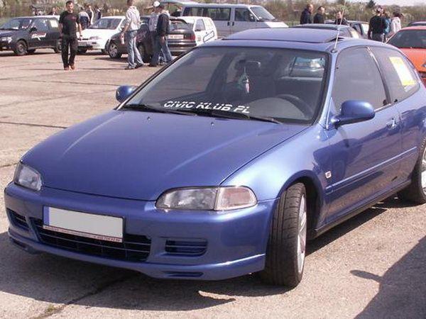 """Накладка бампера передняя HONDA Civic V (91-95) """"NK"""""""