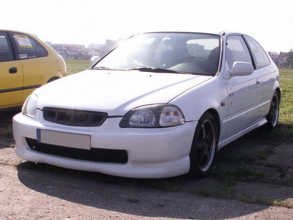 "Накладка передняя HONDA Civic VI (95-98) 2D/3D ""NK"""