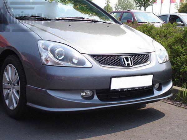 """Накладка бампера передняя HONDA Civic VII (04-06) 3D """"Type R"""""""