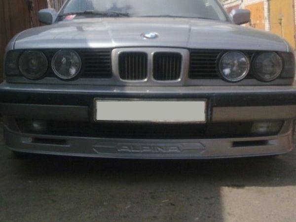 "Накладка переднего бампера BMW E34 (1988-1995) ""ALPINA"""