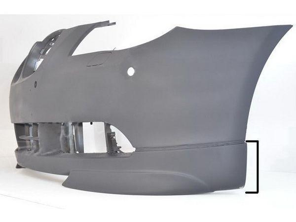 Накладки на углы переднего бампера BMW E60 / E61 (2003-2007)