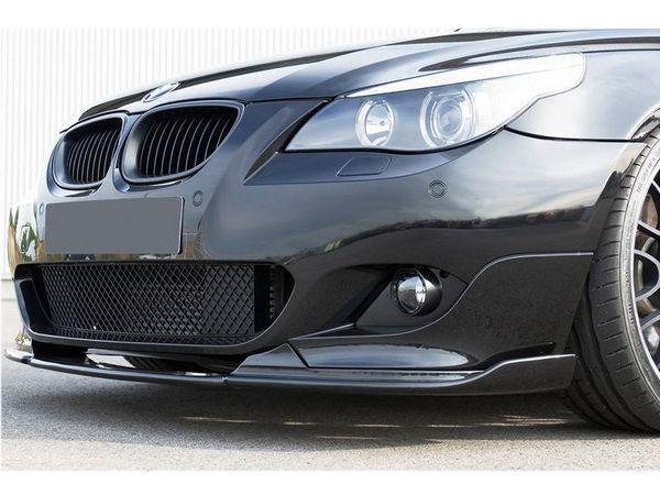 """Сплиттер переднего бампера """"M-Пакет"""" BMW E60 / E61"""